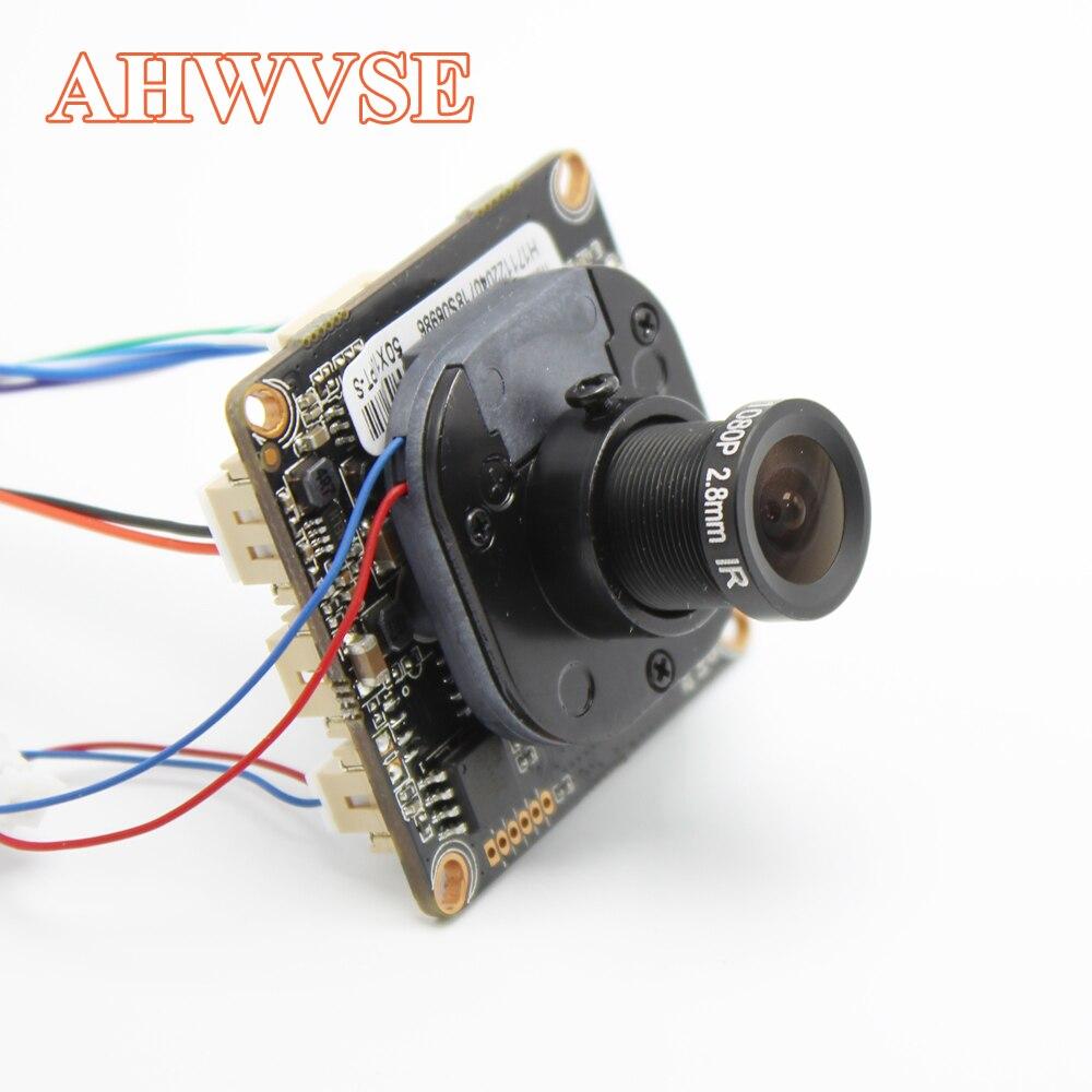 AHWVE 1080P IP Camera Module Board XMeye App Indoor Camera CCTV Security Camera Surveillance ONVIF mobile XMEYE App