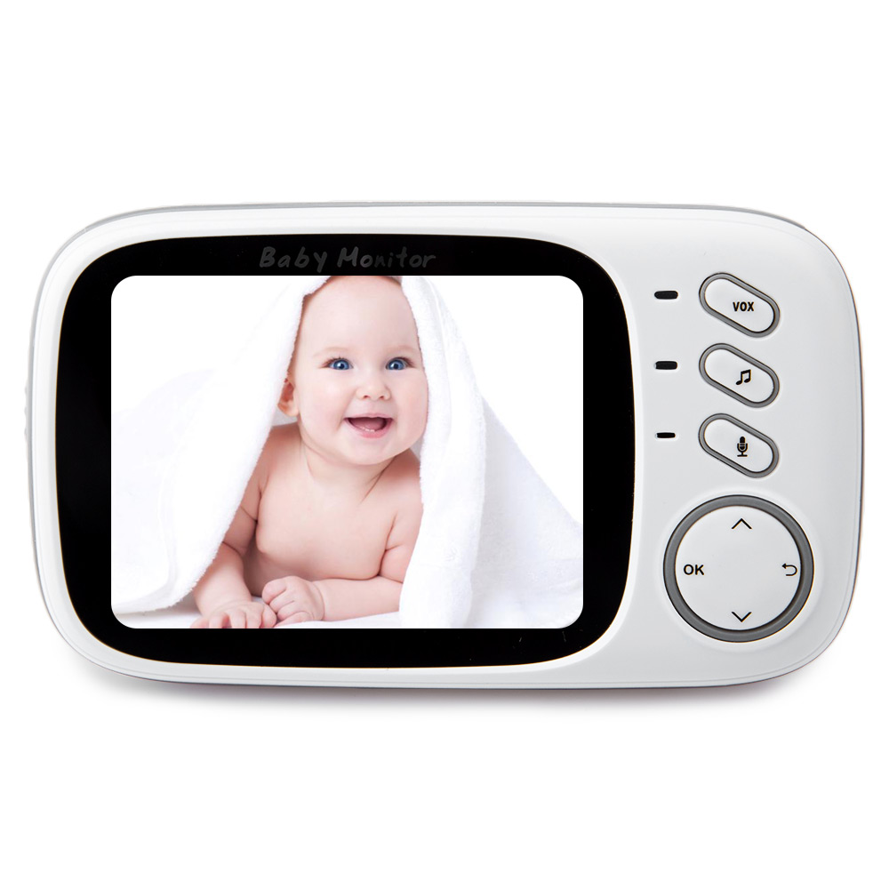 FIMEI VB603 3.2inch Baby Monitor Wireless Video Infant Monitor Home Security Nanny Camera Temperature Monitoring Night Vision