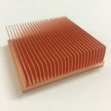 High Quality Electronic heat sinks sink power Sink Radiator for CPU Copper heatsink (skiving fin) YL-0038
