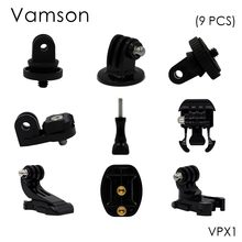Vamson for Gopro Accessories Motion camera tripod screw tripod adapter 1/4 screw For Gopro 6 5 4 3+ 3 for Xiaomi for SJCAM VPX1