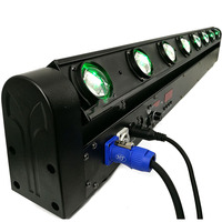 Free Shipping LED Bar Beam 8x 12W RGBW Quad Moving Head LED Stage Light Fast Shipping