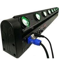 Бесплатная доставка светодиодный Бар луч 8x12 Вт RGBW Quad Moving головной светодиодный свет этапа Быстрая доставка