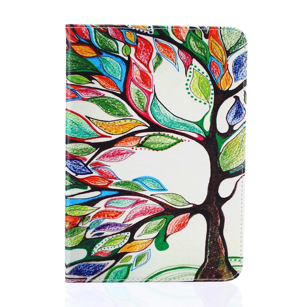 Fashion Flower Cartoon Animal Elephant Leather Stand Flip Smart Case for Samsung Galaxy Tab S2 8.0 T710 T715 Tablet Book Cover