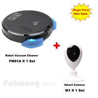 2017 FM01A Wet And Dry Robot Vacuum Cleaner Mop Home Floor Washing House Sweeping Cleaning Auto