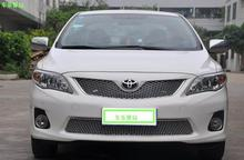 for Toyota Corolla 2012-2014 Quality Car front bumper Mesh Grille Around Trim Racing Grills