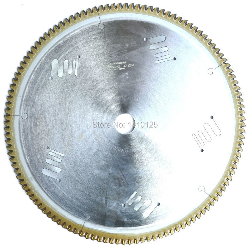 12 inch 305 mm*25.4* 120T TCT Circular Saw Blade Aluminum Cutting 120 Teeth Tungsten Carbide Saw-blade Hard Alloy Arbor 25.4mm 12 140 teeth 305mm carbide saw blade for cutting polycarbonate plexiglass perspex acrylic professional 15 degree ab teeth
