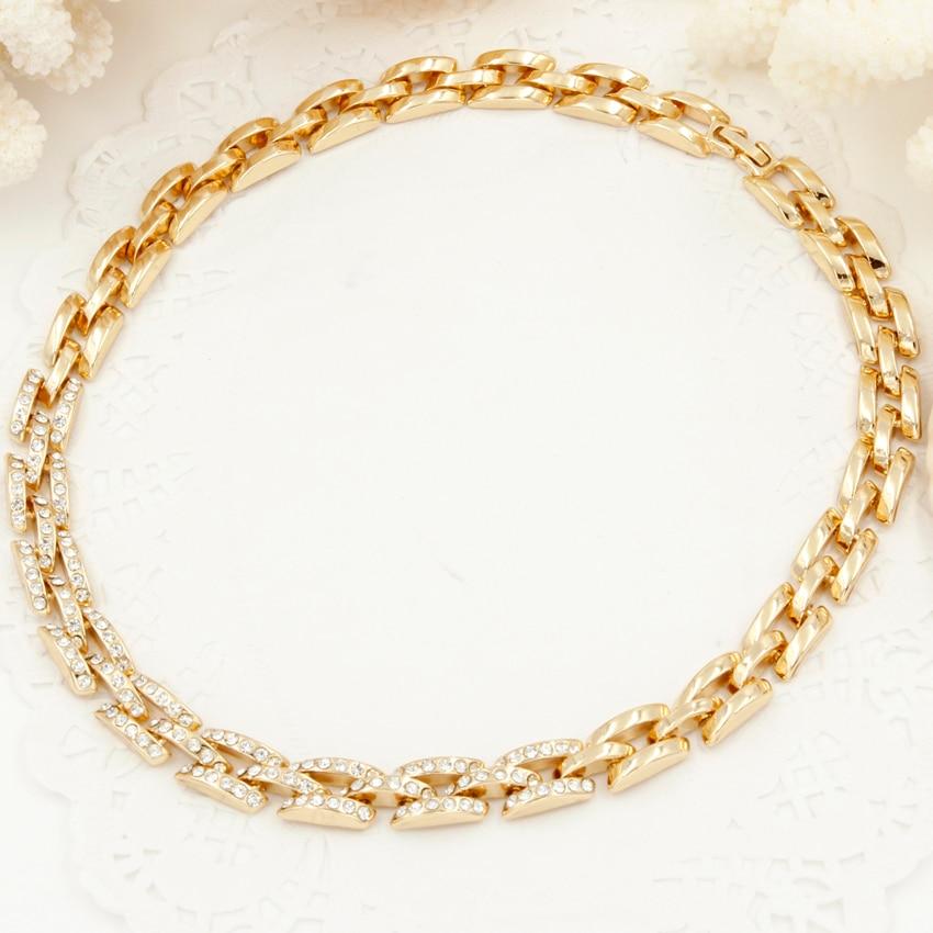 2018 New Fashion Jewelry Dubai Gold Jewelry Sets Bridal Wedding ...