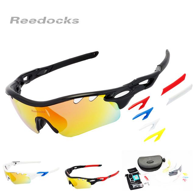 More Than 30 DIY Types 5 Lens  Polarized Cycling Brand Sun Glasses Men Women Outdoor Sports Bicycle Eyewear Bike Sunglasses