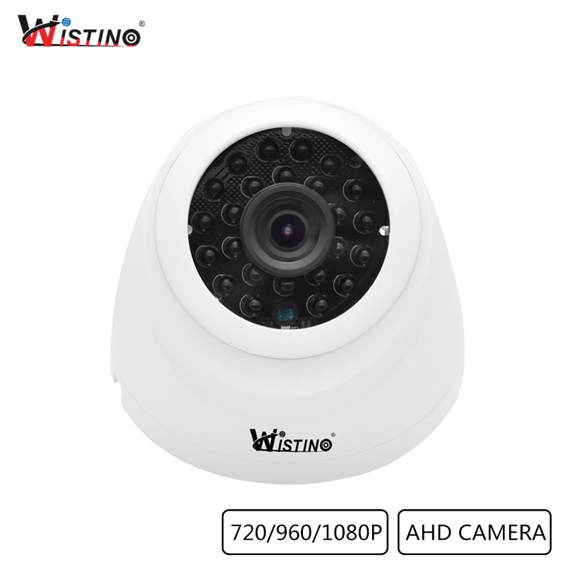 Wistino CCTV Analog Camera XMeye AHD Camera Dome Outdoor HD 1080P 720P P2P Surveillance Security Video Monitor IR Night Vision альгинатная маска aravia professional маска альгинатная с экстрактом черной икры black caviar lifting объем 550 мл