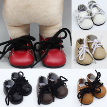 1 Pair Mini Brown Red Pink Khaki White Black Shoes Suitable EXO Doll Fashion Sport for 14 inch Dress Accessories