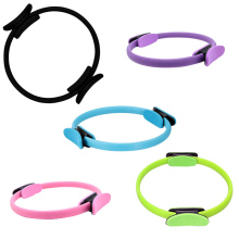 Professional Double Grip Pilates Ring Magic Circle Body Muscle Tool Yoga Fitness Workout Gym Training