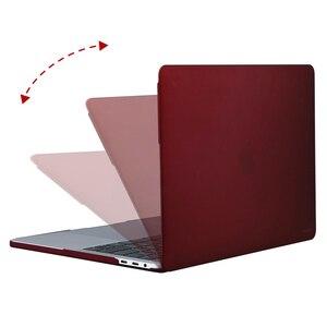Image 3 - MOSISO Crystal \ Matte Laptop Case Voor Apple Macbook Nieuwe Pro 13 15 Met Touch Bar Shell Case voor Mac pro13 15 inch Cover 2016 2018
