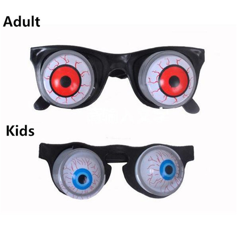 hot april fools day spoof person funny tricky toys surprised off eye glasses halloween supplies - Personalized Halloween Decorations