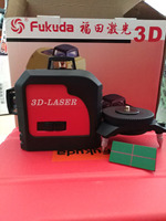 Fukuda 3D Livello Laser Green Cross Laser Module 12 Lines
