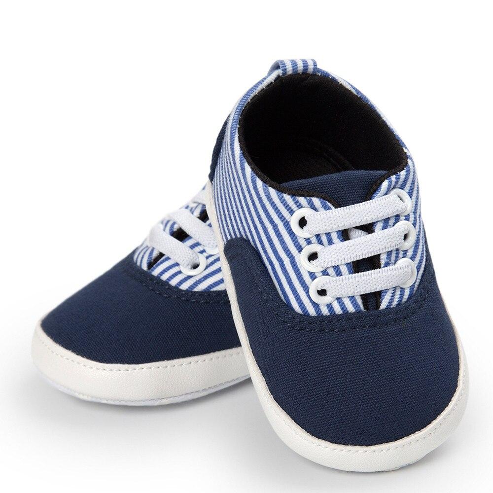 Baby Girl Boys Multi Frenulum Canvas Shoes Sneaker Anti-slip Shoes Crib Shoes