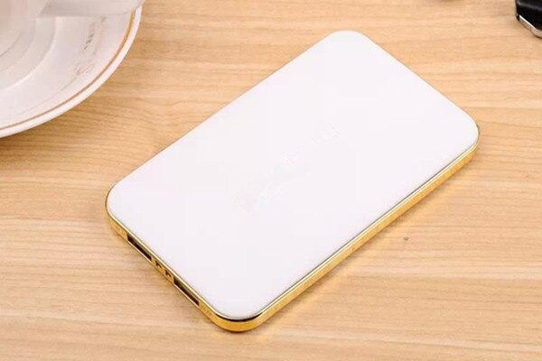 imágenes para Alto cargador portátil de alta Dual USB Banco de la Energía 5600 mAh Cargador Portátil de Batería Externa powerbank teléfono móvil Poderes de Copia de seguridad