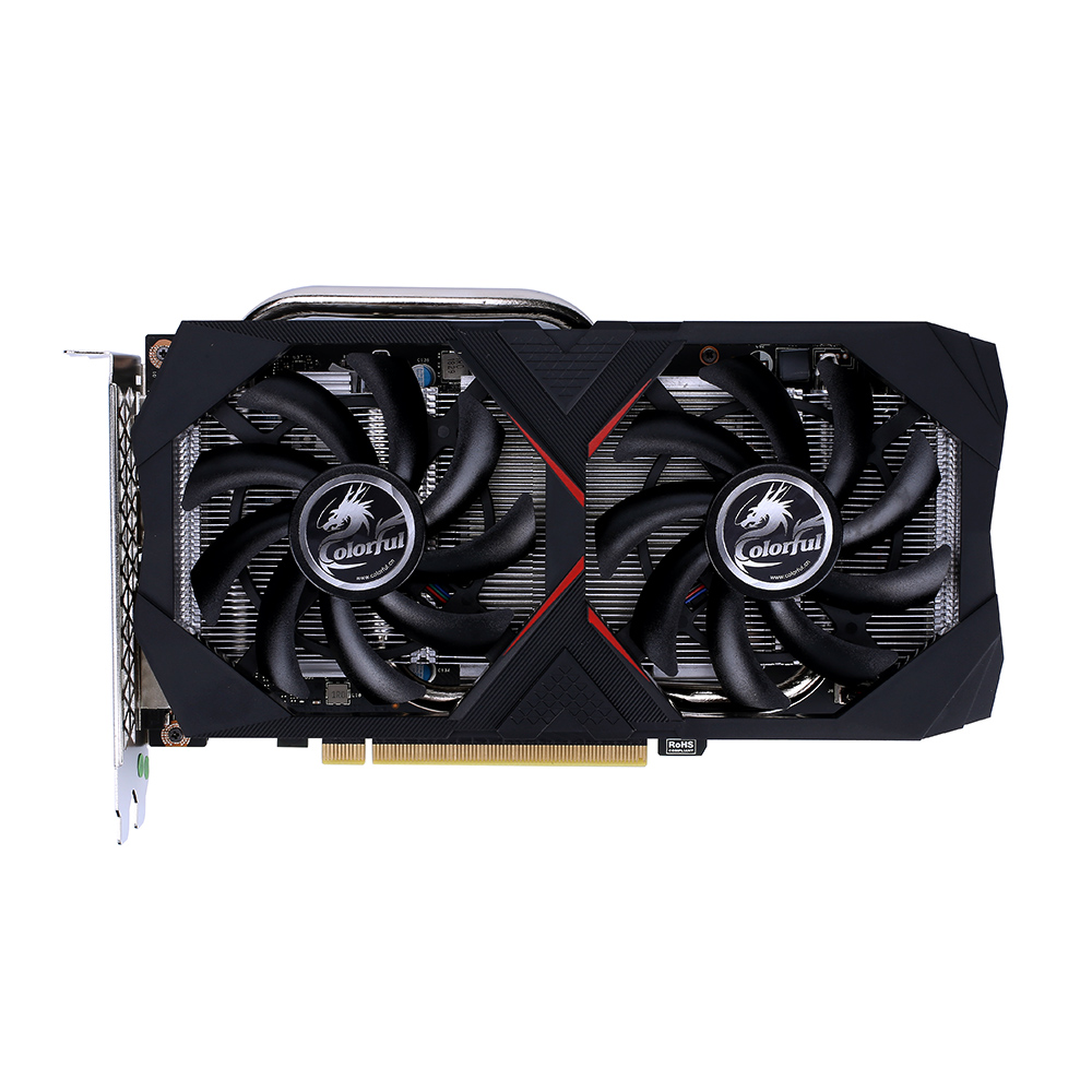 Colorful iGame GeForce RTX 2060 Graphic Card GDDR6 6G Nvidia Gaming Video Card 1365-1680Mhz PCI-E 3.0 placa de video For Gaming image