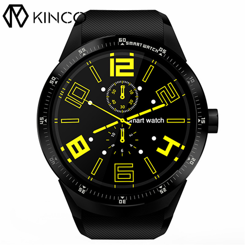KINCO MT6572A 512M+4G GPS IPS 1.3 inch Android 4.4 Smart Phone Watch Heart Rate Monitor Steps Anti-lost Bracelet for IOS/Android kinco mt6572a 512m 4g gps ips 1 3 inch android 4 4 smart phone watch heart rate monitor steps anti lost bracelet for ios android