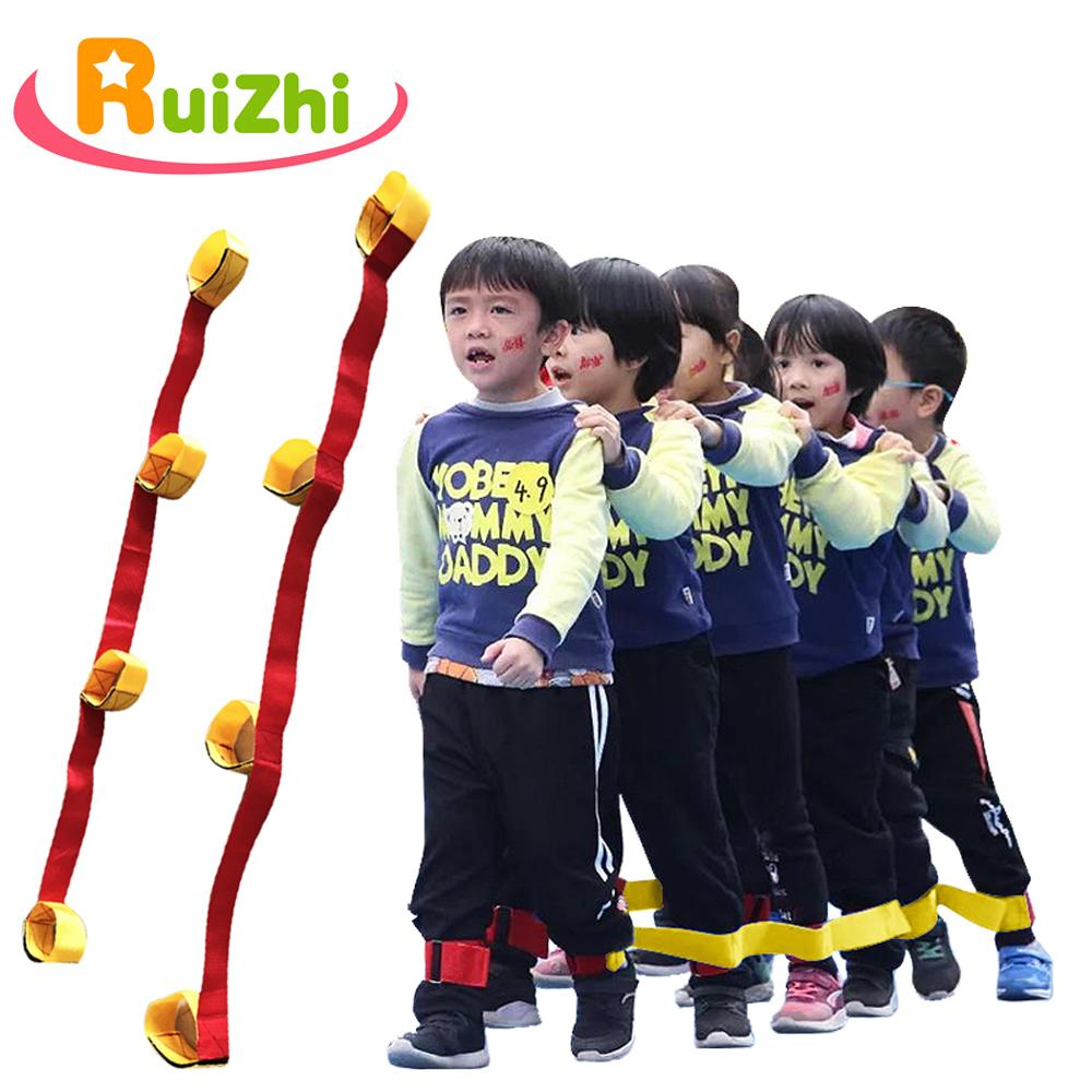 Ruizhi Cooperative Band Walkers Kids School Fun Games Fastening Tape Training Props Team Outdoor Activities Sport Toys RZ1034(China)