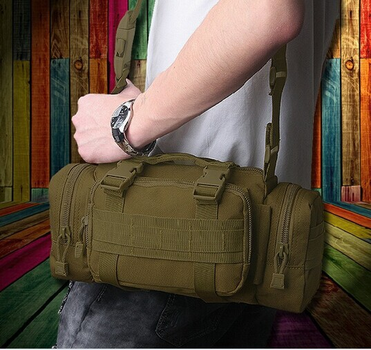 molle military tactical waist bag backpack 3P tactical military fans pockets magic camer ...