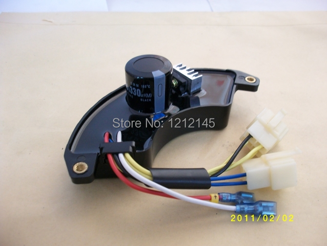 5KW Three Phase AVR For HONDA SAWAFUJI Generator Parts Automatic Voltage Regulator motorcycle cnc aluminium engine protective protect cover right