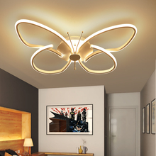 Modern creative Led luster acrylic  living room Aluminum Chandelie bedroom Dimmable Chandeliers lighting Fixture