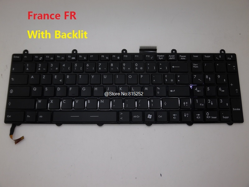 Laptop Keyboard For MSI GE60 2PC 2PE 2PF 2PG 2QD 2QE NE Nordic RU Russian SW Swiss US English German GR France FR Korean KR russian new laptop keyboard for samsung np300v5a np305v5a 300v5a ba75 03246c ru layout