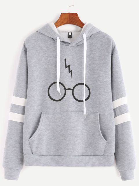 Harry Potter Glasses Hoodie (3 Colors)