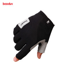 BOODUN Pro Summer Men Women Hiking Gloves Half Finger Breathable Outdoor Sports Glove Equipment Tactical Climbing