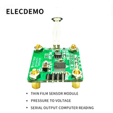 Membrane pressure sensor module Pressure to voltage Serial output computer read value FSR flexiforce xgzp6867 digital iic pressure sensor module i2c output 0 500kpa 1mpa pressure 5v
