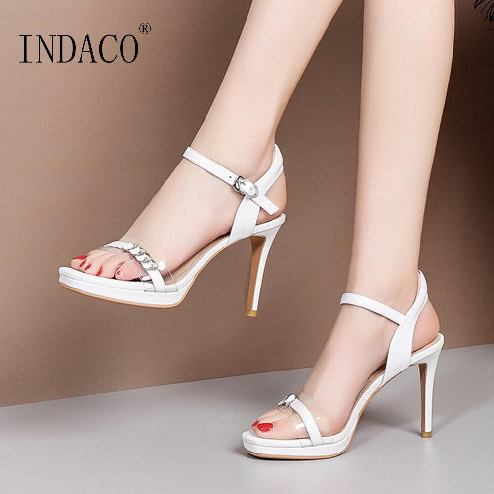 Sandals Women Summer Shoes 2019 New Platform Open Toe Super High Heel