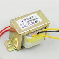 Pure Copper Double 12 V30w Power Transformer Transformer Fire Cow TDA2030 2 1 Amplifier Board In