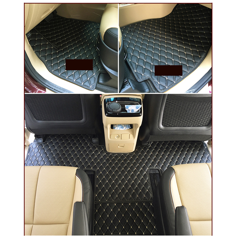 Lsrtw2017 Fiber Leather Car Floor Interior Mat For Kia