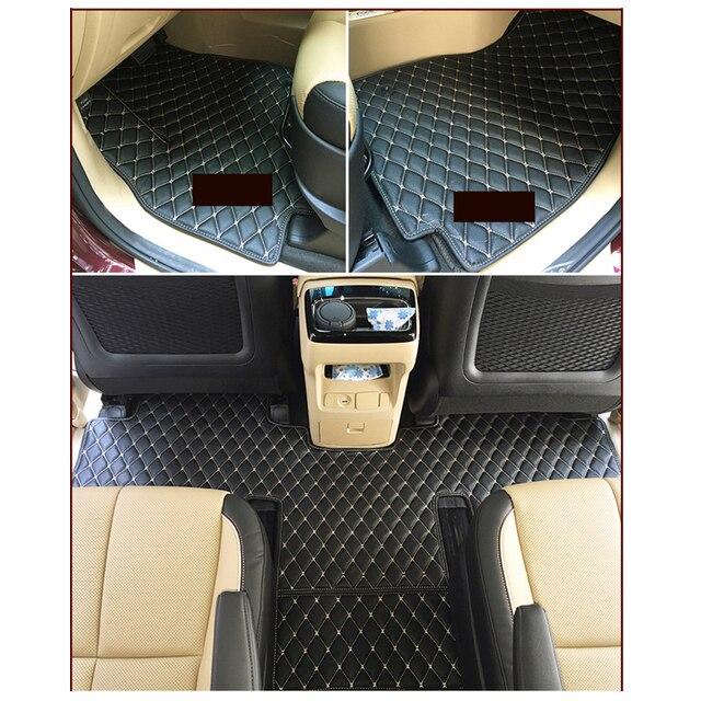 Lsrtw2017 Fiber Leather Car Floor Interior Mat For Kia Carnival 2016