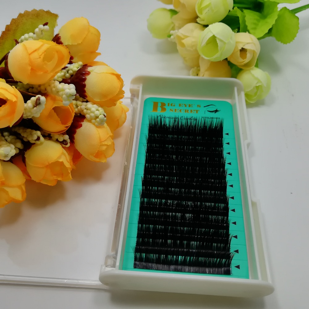 All Size C D L Curl Individual Mink Eyelash Extension Natural Black Thick Soft Lashes Extension For Professionals