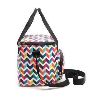 Image 3 - SANNE sac à déjeuner pour femmes, sac à déjeuner thermo alimentaire multifonction, glacière, nouveau Design, à la mode 2019, YQ835