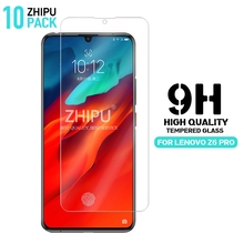 10 Pcs Tempered Glass For Lenovo Z6 Pro Screen Protector 2.5D 9H Premium Protective Film