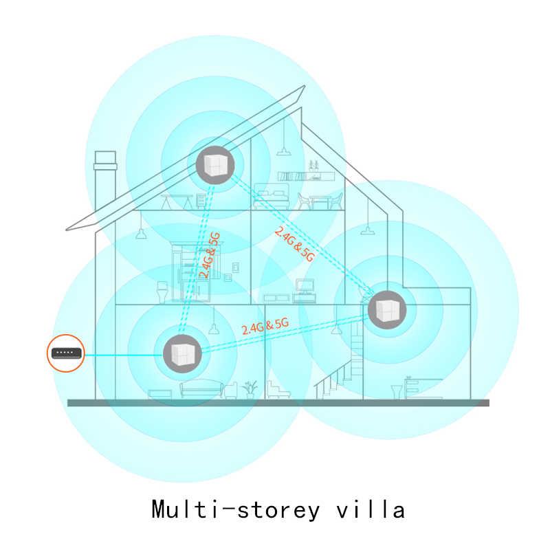 Tenda Nova MW6 Wifi inalámbrico de routers de malla 11AC de banda Dual 2,4 Ghz/5,0 Ghz Wifi repetidor de malla de sistema WiFi administración remota de la aplicación en inglés
