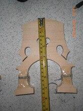 2 PCs Adjustable Double Bass Bridge 3/4 maple bridge