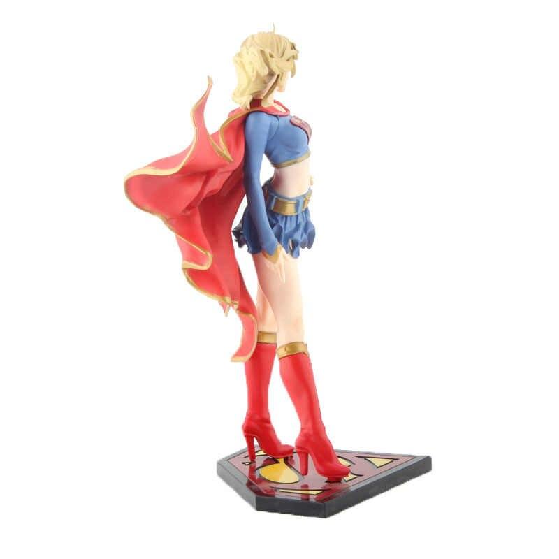 DC Comics Bishoujo Вселенная Супергерл фигурка Kotobukiya полная коллекционная игрушка 21 см