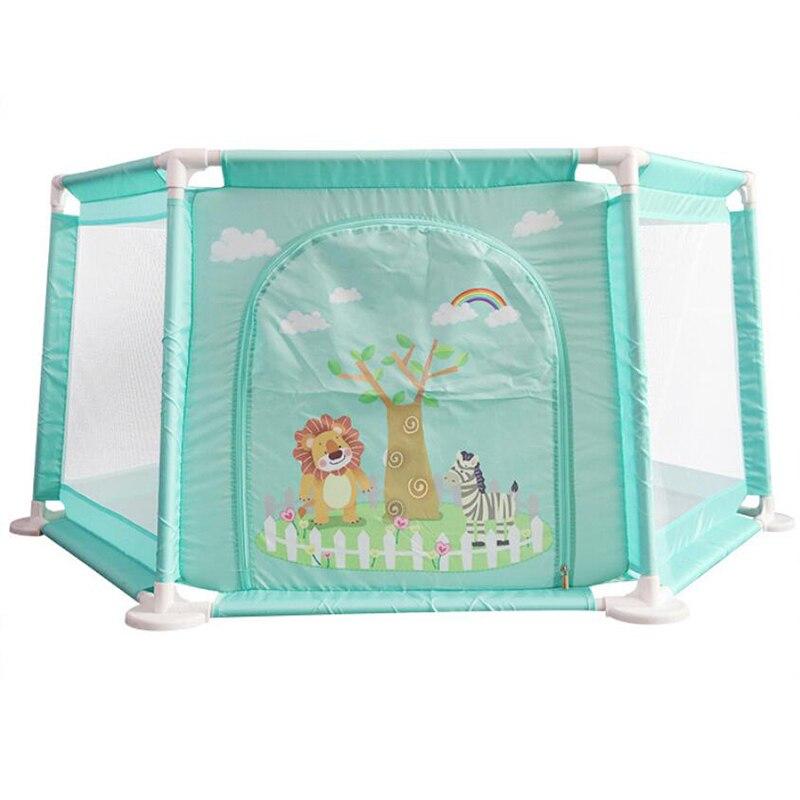 Bébé parc Portable escrime pour enfants enfants barrière de sécurité barrières piscine à balles pour enfant