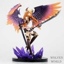 Anime Figure 29 CM Kotobukiya Rage of Bahamut Dark Angel Olivia Ani Statue PVC Figure Action Collectible Toy Model