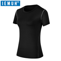 IEMUH Brand 2018 New Summer Short T Shirt Women Quick Dry Breathable Tees Female Casual Clothing