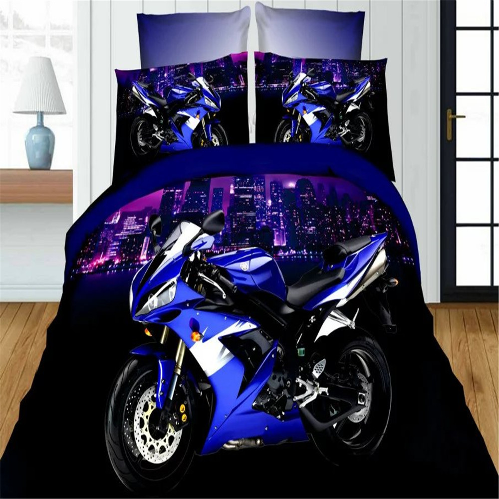 Online Get Cheap Boys Motorcycle Bedding Aliexpress Com