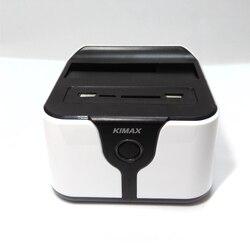 2,5 /3,5 дюймовый SATA HDD док-станция с Wi-Fi роутером NAS сетевая функция хранения данных с SD TF кардридер USB3.0 порт