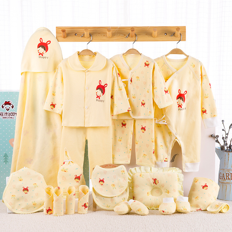 e7636f8635efd 21 Pcs/Set Cotton Newborn Baby Clothing Set for Girls Boys Toddler Baby- clothes