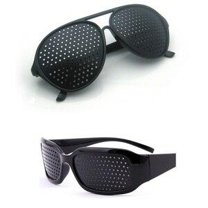 Vazrobe Black Pinhole Glasses