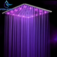 Hot Sale Wholesale And Retail LED 10 Square Rain Shower Head Wall Ceiling Mounted Top Over head Shower Sprayer