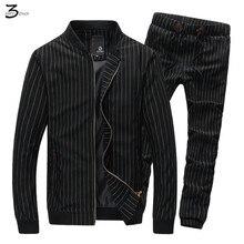 XMY3DWX Jugend hoodies anzüge mann schlug die frühling herbst zeitraum die neue produkt hohe marke stehkragen streifen pullover anzüge