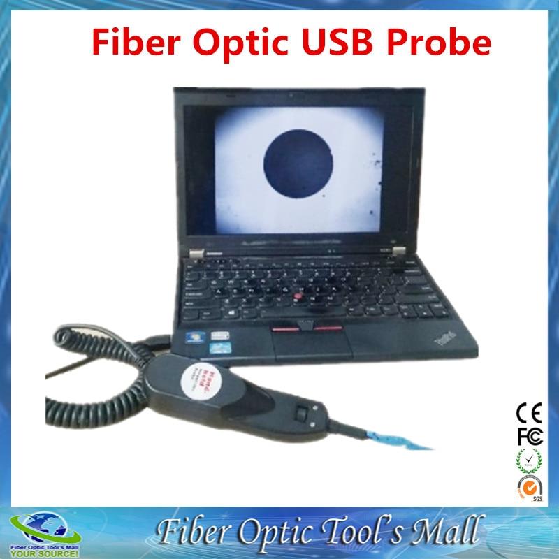 imágenes para Envío Gratis USB tipo Sonda de Inspección de Fibra Óptica Del Microscopio